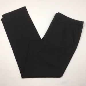 Lafayette 148 Black Side zip dress pants. Size 10
